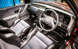 93 used buying guide Ford Escort XR3i interior cabrio