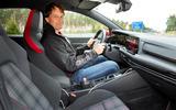 2020 Volkswagen Golf GTI first ride - driver