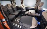 93 Volkswagen Multivan T7 2021 official images third row
