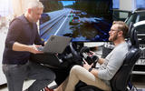 Volvo mixed reality simulator research - laptop