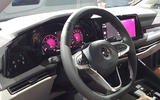 2020 Volkswagen Golf mk8 official reveal - steering wheel
