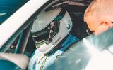 Andrew Frankel in the Porsche 935