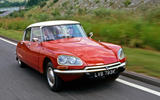 Citroen DS 1954 - tracking front