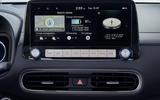 Hyundai Kona Electric MY2020 official - infotainment