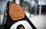 94 Aston Martin AMR C01 simulator tested seat stitching