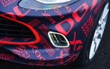 2020 Aston Martin DBX camouflaged prototype ride - foglights