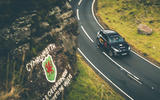 Aston Martin DBX 2020 prototype drive - valleys