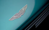 94 Aston Martin Valhalla official reveal front badge