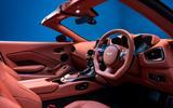 Aston Martin Vantage Roadster 2020 - official press images - interior