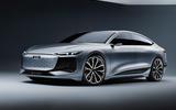 94 Audi A6 E tron Concept official static studio front