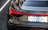 Audi E-tron GT concept 2020 prototype first drive review - rear lights
