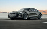 Audi E-tron GT tracking - front