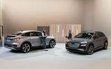 94 Audi Q4 etron 2021 official reveal studio