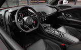 94 Audi R8 Performance RWD 2021 official images cabin