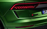 Audi RS Q8 2020 official reveal photos - rear lights