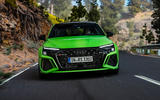 94 Audi RS3 2021 official reveal saloon nose