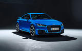 Audi TT RS 2019 facelift - official press images - studio front