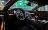 Bentley Continental GT V8 2019 official press - interior