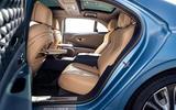 94 Bentley Flying Spur Mulliner official reveal rear seats