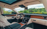 94 Bentley Flying Spur PHEV 2021 official images cabin