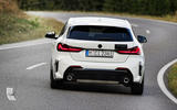 BMW 1 Series 128ti prototype 2020 first drive review - cornering rear