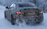 BMW 2 Series Coupe winter test spy images - rear end