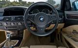 BMW 5 Series E60 road test rewind - dashboard