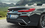 BMW 8 Series cabriolet 2018 official reveal - exhausts