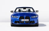 94 BMW M4 Convertible 2021 official reveal nose
