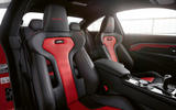 BMW M4 Edition M Heritage official press - cabin red
