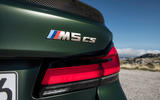 94 BMW M5 CS 2021 official reveal rear badge