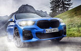 BMW X1 PHEV official press photos - on the road nose
