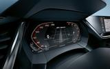 2019 BMW Z4 official reveal Pebble Beach - instrument cluster