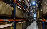 94 British Motor Heritage factory visit 2021 parts bins