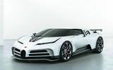 Bugatti Centodieci press images - front