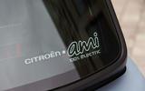 Citroen Ami (LHD) 2020 UK first drive review - rear glass