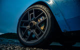 Cyan Volvo P1800 drive - alloy wheels