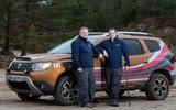 Dacia x Future Terrain - drivers by car