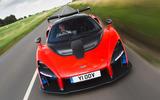 94 fastest cars tested by Autocar McLaren Senna