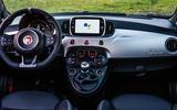 94 Fiat 500 Hey Google 500 dashboard