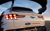 Ford Mustang Mach-E 1400 official images - rear lights