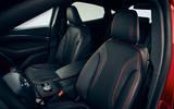 Ford Mustang Mach-E 2020 first ride - front seats