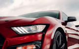 Ford Shelby Mustang GT500 official reveal - headlights