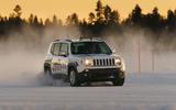 GKN Jeep Renegade eAWD prototype 2020 drive - sunset