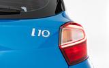 Hyundai i10 2019 reveal - studio rear badge