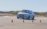 2021 Hyundai i30 Fastback N prototype drive - track cones