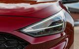 2020 Hyundai i30 N-Line prototype drive review - headlights