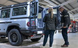 94 Ineos Grenadier interior preview 2021 boot talking
