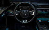 Jaguar F-Pace 300 Sport 2019 press - steering wheel