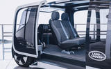 Jaguar Land Rover Project Vector official images - interior seats reversed